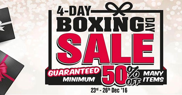 Harvey Norman 4-Day Boxing Day Sale goes crazy with discounts on many items
