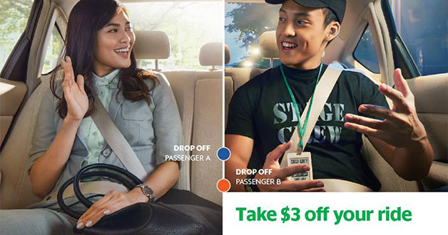 ComfortDelGro discount fully redeemed? Use Grab $3 off promo code better because 20,000 redemptions daily
