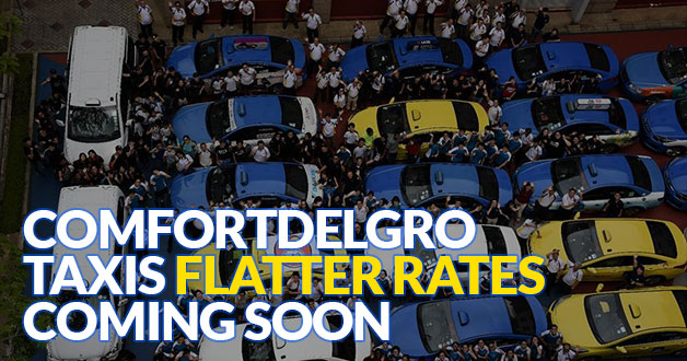 ComfortDelGro Taxis to charge flatter rates soon