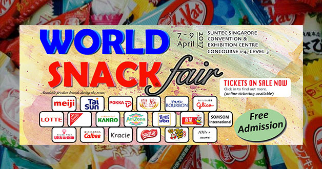 World Snack Fair 2017 featuring Meiji, Lotte, Glico, Calbee and 100+ more coming this April