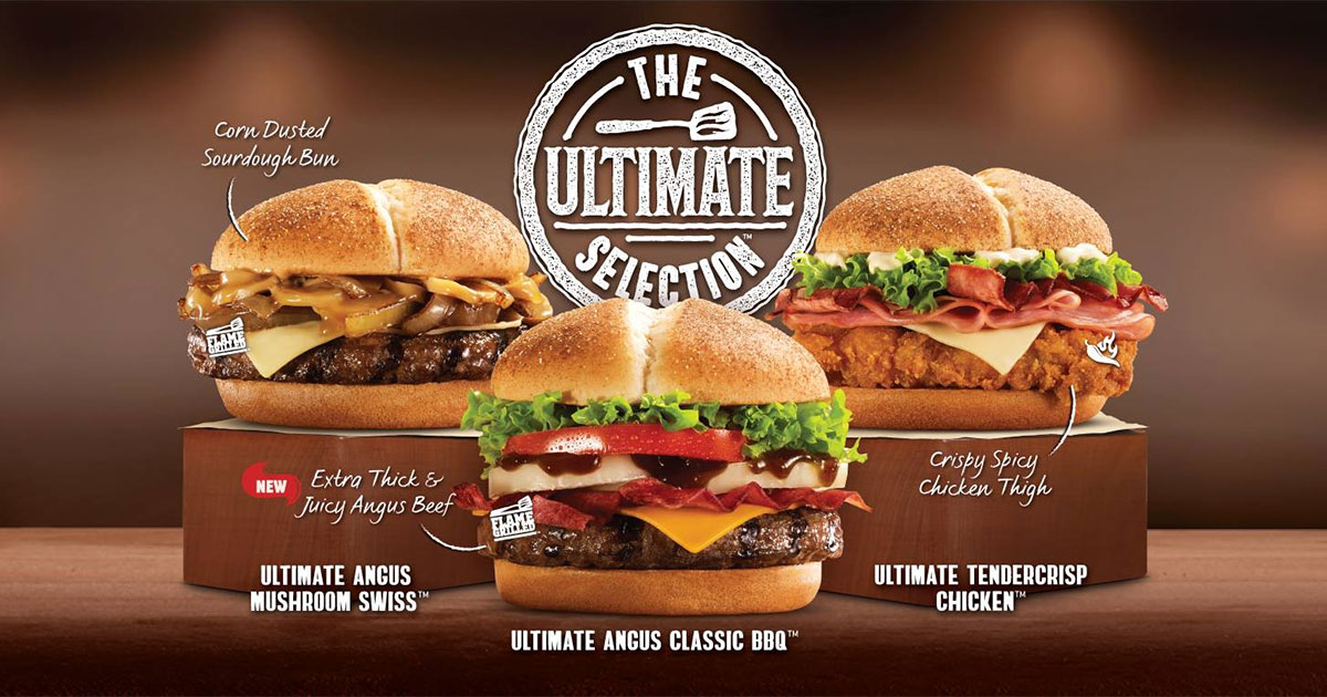 Burger King new 'Ultimate Selection' Burgers are here to battle McDonald's atas ones