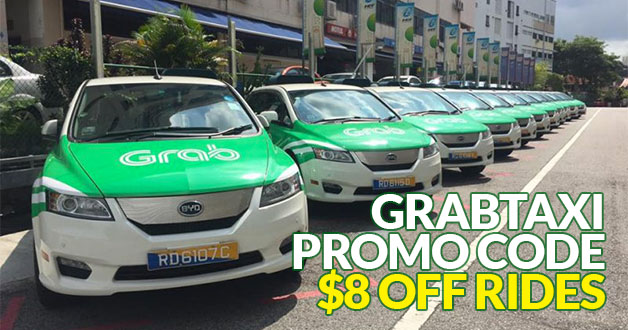 Your midnight rides cheaper. Use this GrabTaxi promo code and enjoy $8 off taxi rides