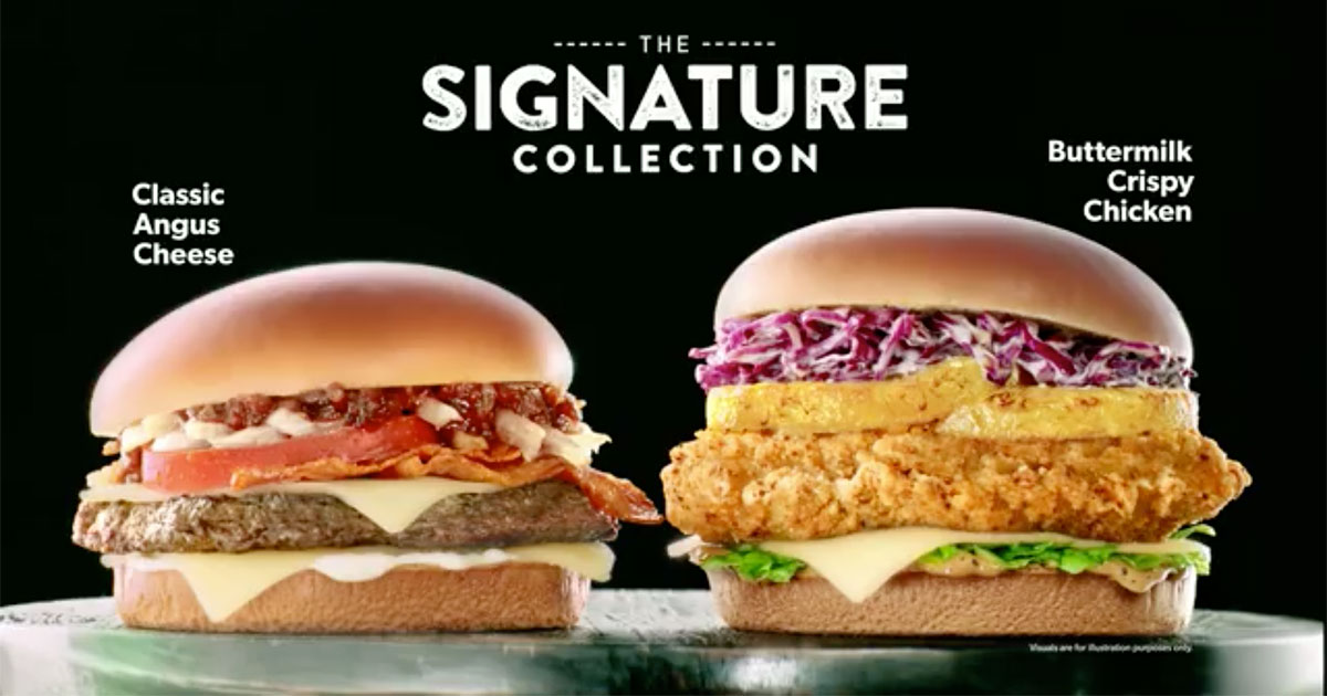 McDonald's adds new Buttermilk Crispy Chicken to The Signature Collection