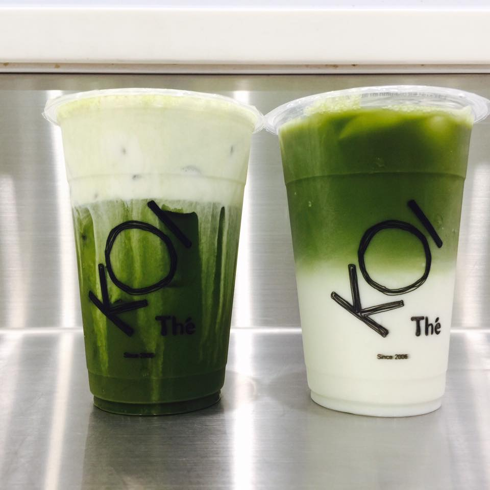 You can now find the much-awaited Matcha Series beverages at KOI Toa Payoh outlet