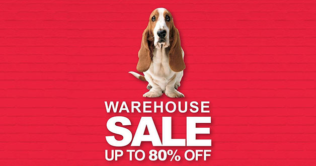 The annual Hush Puppies Warehouse Sale 2017 has arrived. Enjoy up to 80% savings on apparels