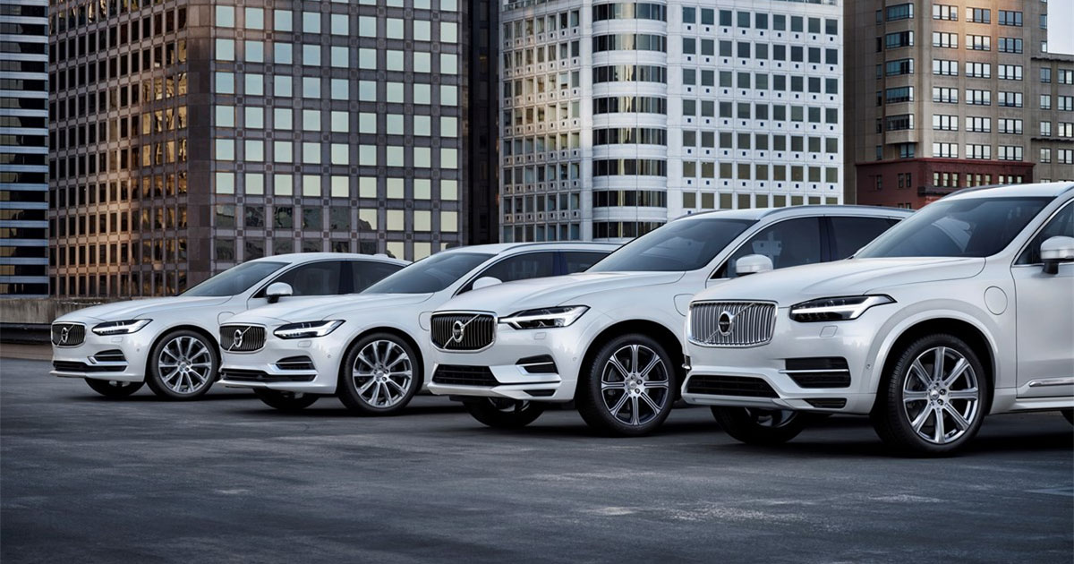 Goodbye, air pollution. Volvo cars to go full electric from 2019