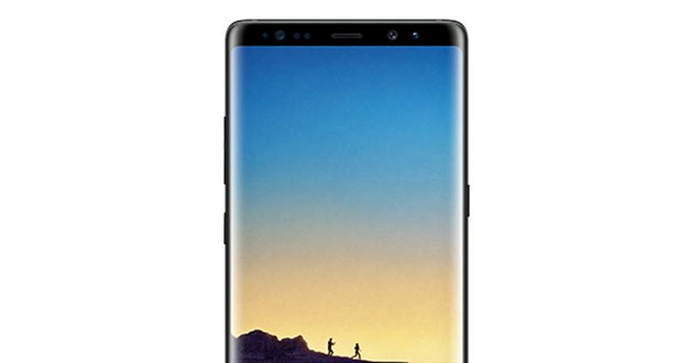 Photo of Samsung new Galaxy Note 8 'Midnight Blue' leaked ahead of launch event
