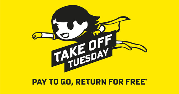Scoot Take Off Tuesday lets you Pay to Go, Return for Free! 50 destinations to choose from