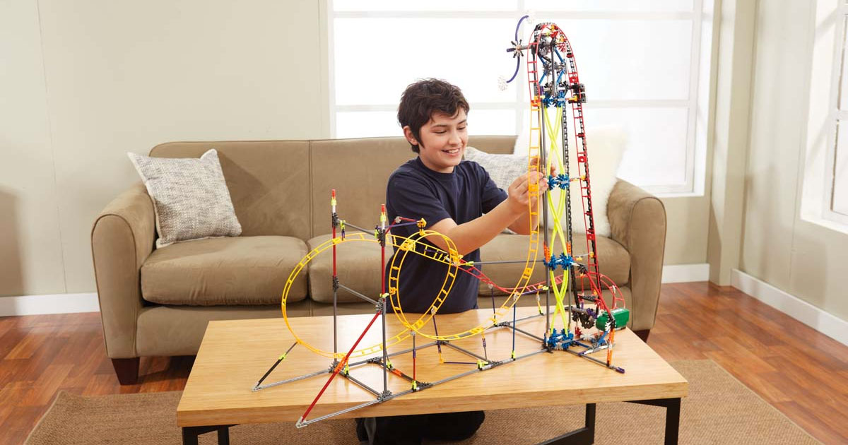 K'NEX Building Toys gets up to 40% discounts on Amazon for 24 hours today
