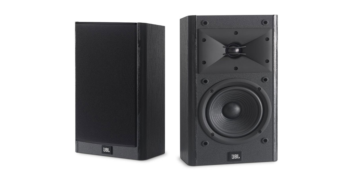 This pair of JBL Arena B15 Black Bookshelf & Surround Speakers now selling at 30% less at Amazon.com