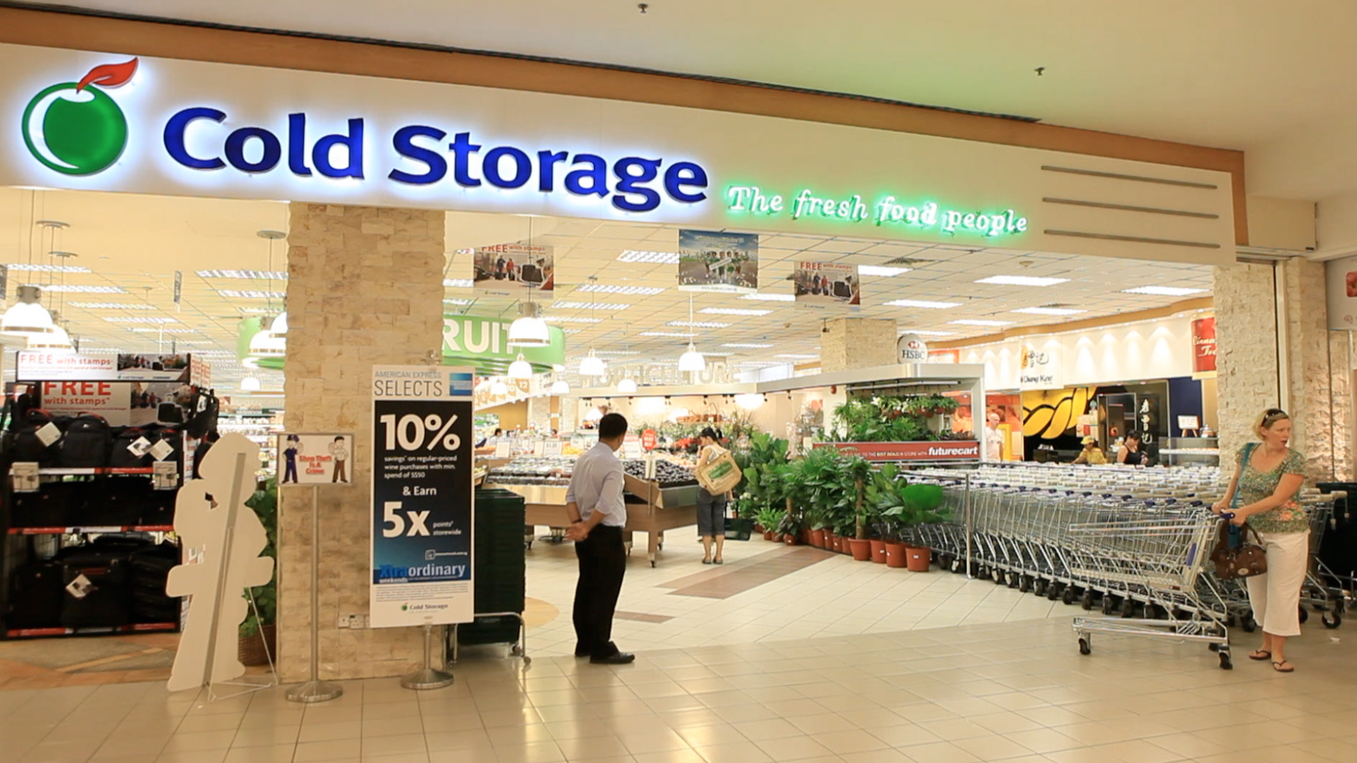 Cold Storage Clearance Sale – Fixed 50% discount on over 4,000 items at all stores islandwide