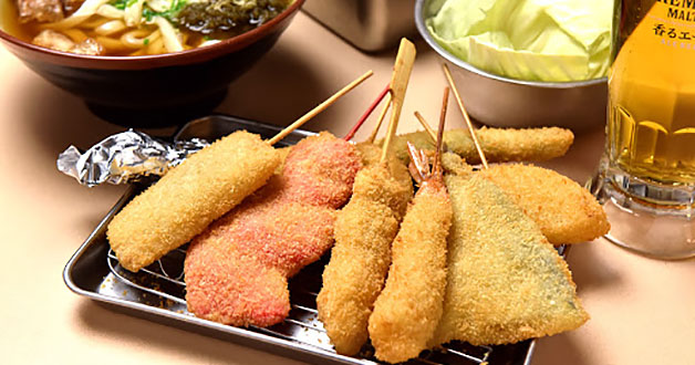 Japan's no.1 fried cutlet skewers chain Kushikatsu Tanaka opens in Singapore with $1 promotion