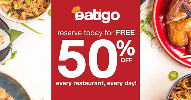 Eatigo will give you $10 CapitaVoucher and a chance to win an iPhone X with every 3 reservations attended