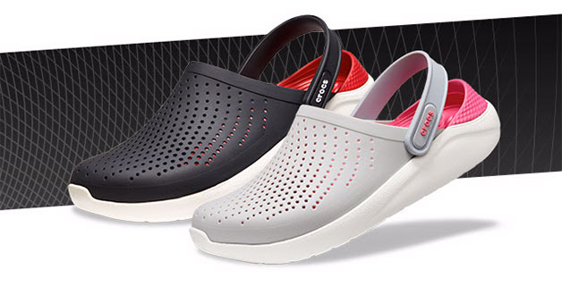 Crocs new LiteRide range of shoes are made from even softer and lighter materials
