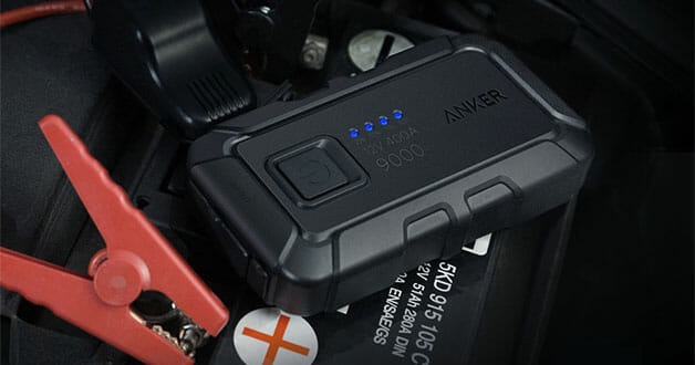 Never worry about a dead battery with this Anker Car Jump Starter