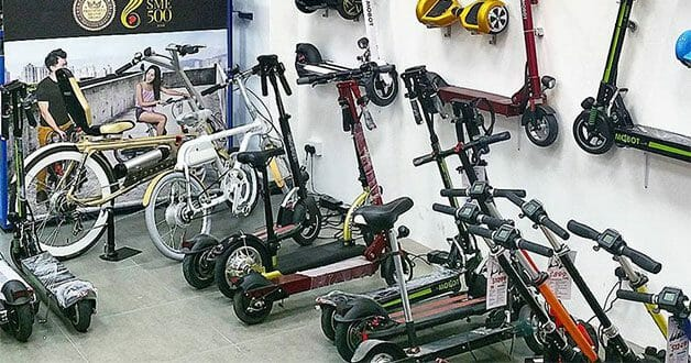 E-scooter distributor MOBOT is having a Good Friday Warehouse Sale this weekend