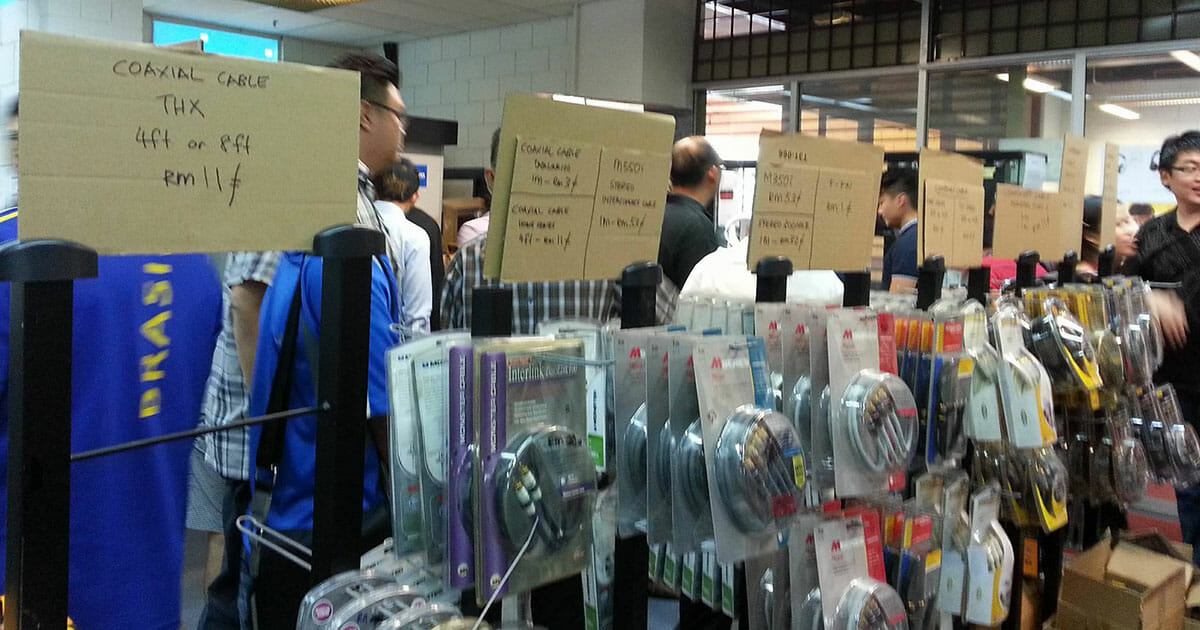 Largest Hwee Seng Warehouse Sale on branded audio products to be held this mid-April