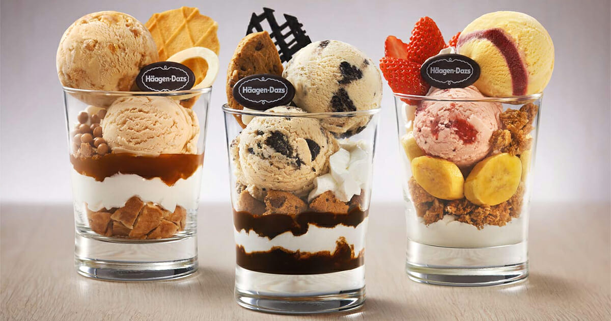 Enjoy 1-for-1 Parfait Crunch when you visit Haagen-Dazs shops this week from April 23 – 27