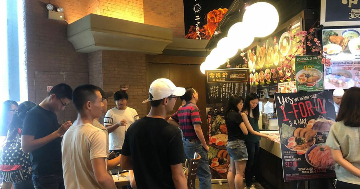 Ramen Champion's 1-for-1 promotion at Bugis+ is returning again on May 10 & 11