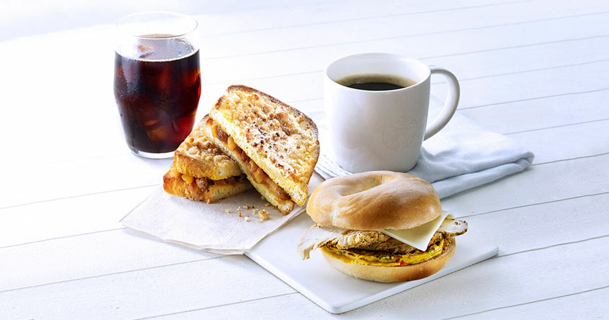 Starbucks refreshes breakfast menu with four new delicious Toast Sets