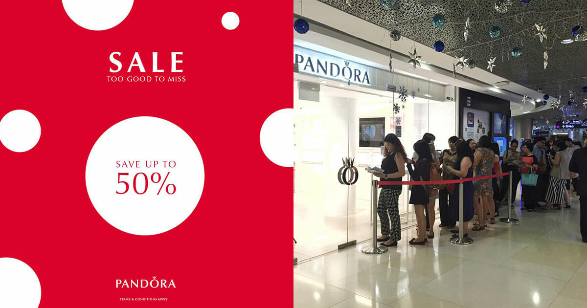 PANDORA Summer Sale now on! Save up to 50% on hundreds of charms and bracelets in stores and online