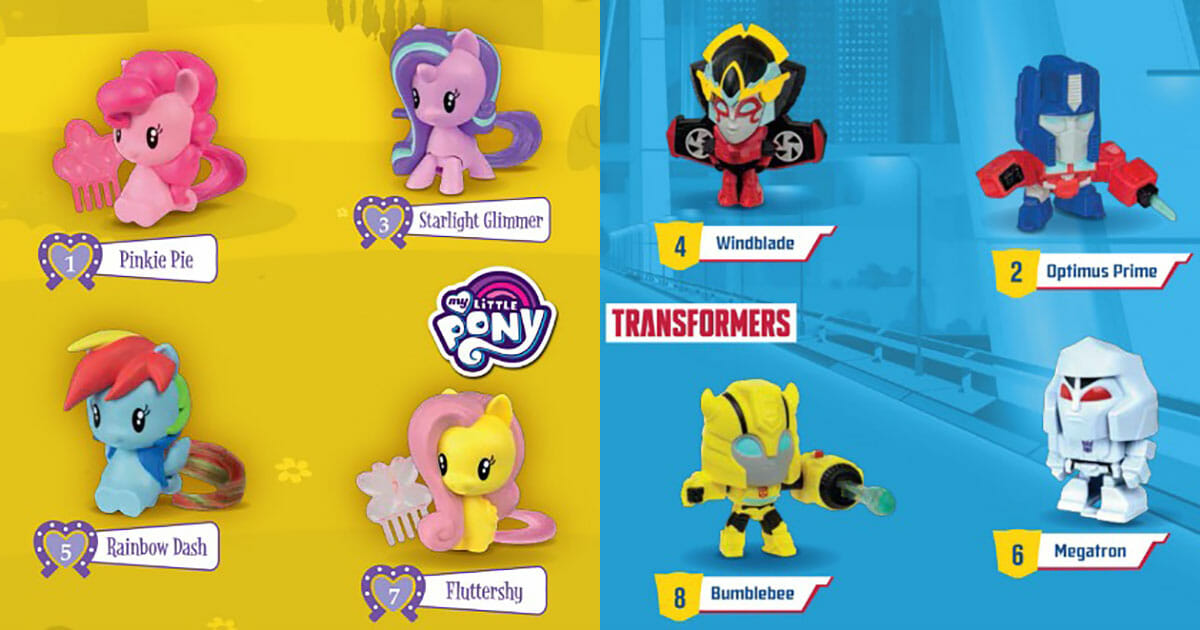 My Little Pony Toy Food : New mcdonald s happy meal toys now available my little