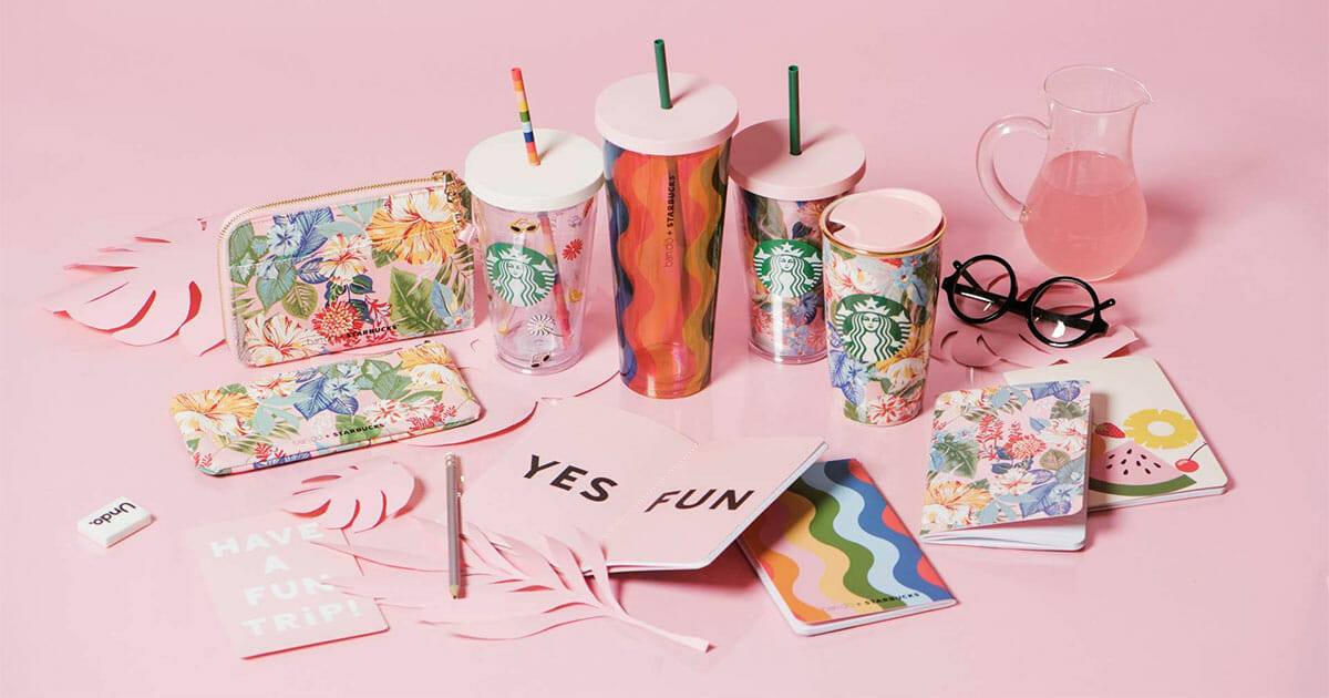 Starbucks team up with LA lifestyle brand Ban.do to launch new merchandise collection