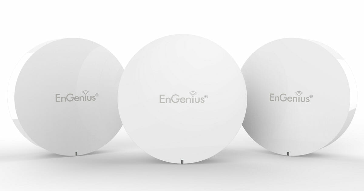 Buy the EnGenius 3-piece Wi-Fi Mesh Router for only S$279 with free shipping now