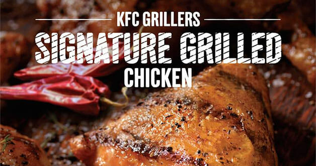 Not a fan of fried food? KFC now serves 'Grilled Chicken' marinated with spices