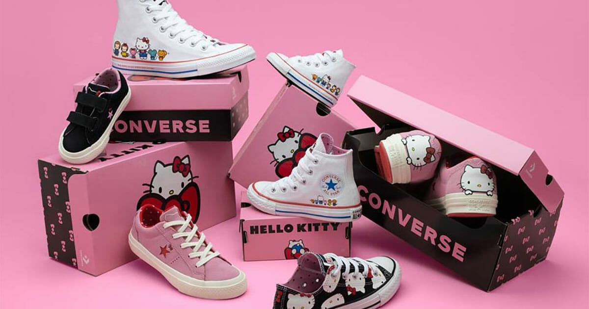 Bet you didn't know Converse Singapore just released a Hello Kitty Collection