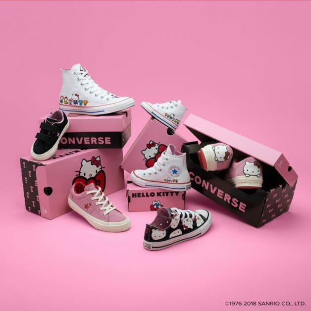 b988e98fd698 Bet you didn t know Converse Singapore just released a Hello Kitty  Collection