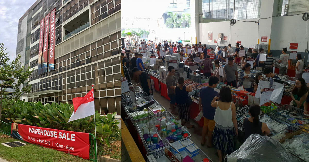 Home-Fix Warehouse Sale in Tai Seng to offer over 1,800 products from August 30