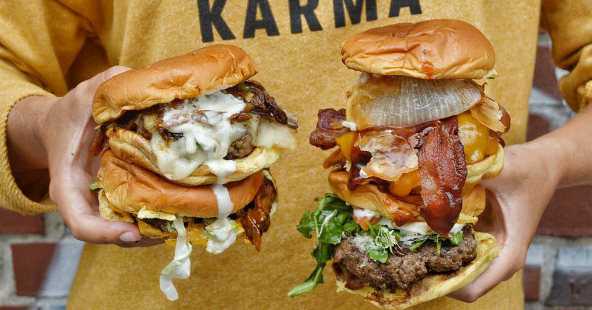 NYC's Black Tap known for their burger stacks and Crazy Shakes now open at Marina Bay Sands