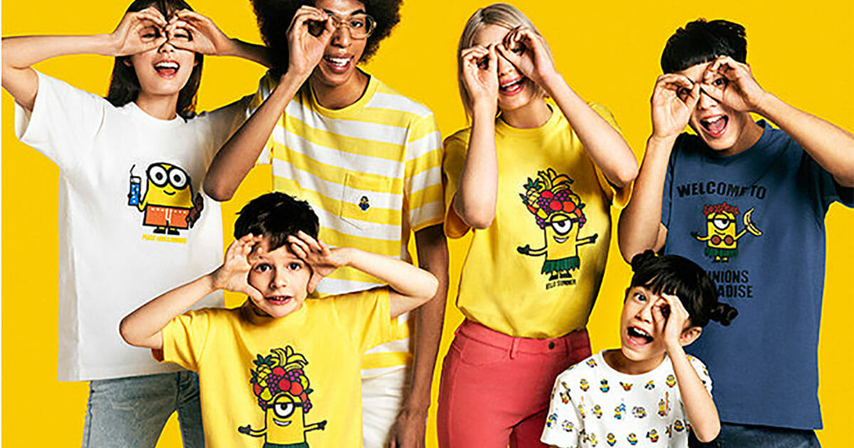 New 'Bello Summer' Minions t-shirts are invading Uniqlo stores this weekend