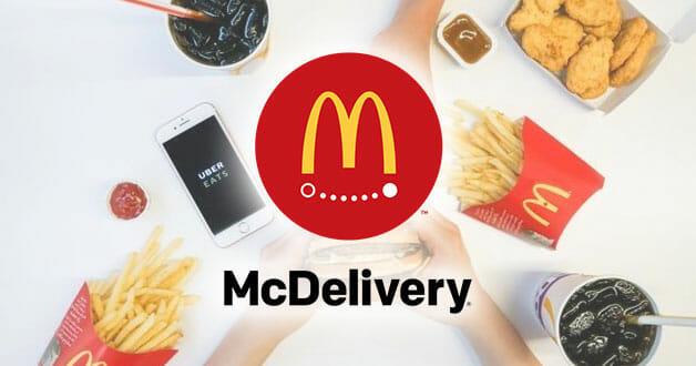 There's a McDelivery promo code that offers free delivery from Monday to Thursday you probably didn't know