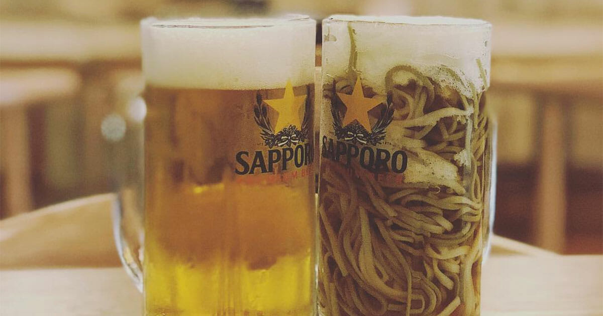 Beer Ramen now a new thing in town, everybody stunned like vegetable