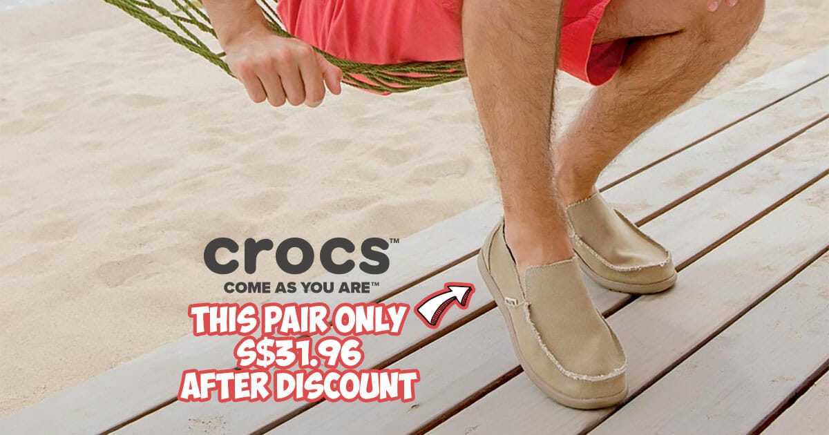 Crocs latest 24-hour Flash Sale: 60% off styles including Santa Cruz, Kinsale, Swiftwater and more