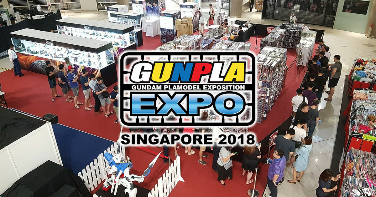Largest Gundam exhibit Gunpla Expo 2018 will be held at Compass One from October 2