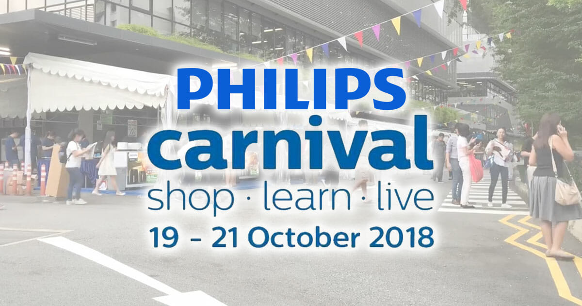Philips Carnival Sale is back this October with up to 60% off home electronics and more