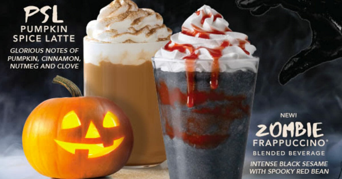 Starbucks S'pore to launch new 'Zombie Frappuccino' and Halloween-themed treats & merch on October 17