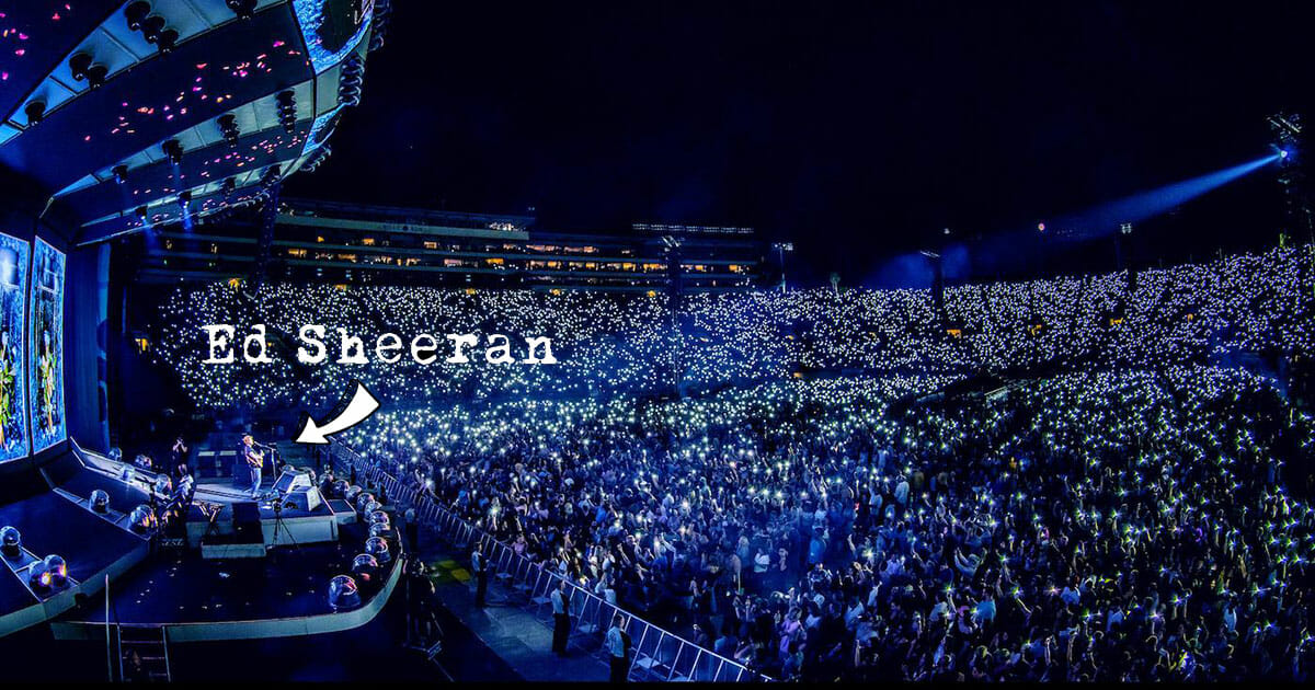 Ed Sheeran returns to National Stadium in April 2019, tickets on sale from October 25