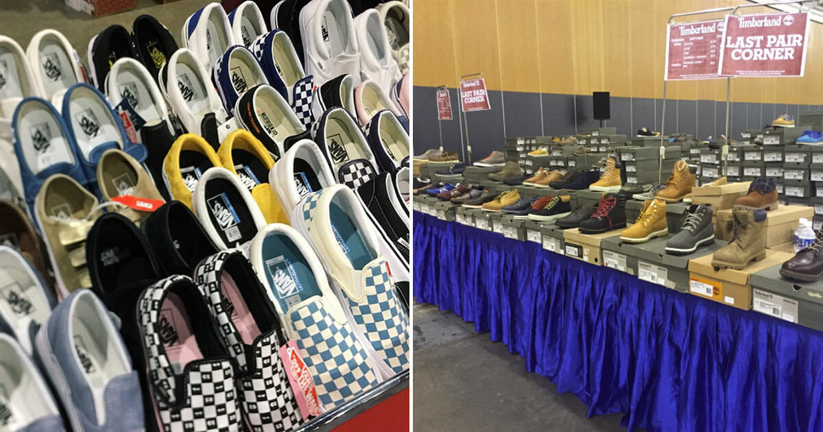 Timberland, Vans and Kipling shoes up for grabs as much as 80% off at Expo Sale till November 4