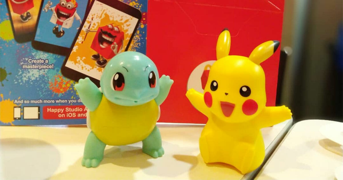Pokémon Happy Meal Toys are coming to McDonald's Singapore from November 15