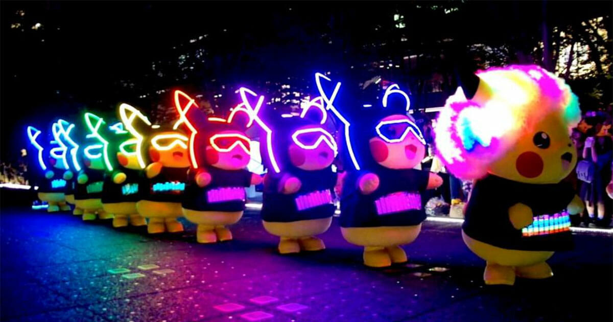First ever 'Pikachu Night Parade' outside Japan to be held in Sentosa this December
