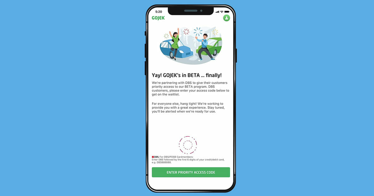 Gojek launches beta app in Singapore, offers $5 off 2 rides for DBS cardholders