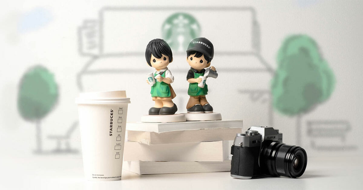 This pair of Starbucks x Precious Moments Baristas will make the perfect Christmas gift for coffee lovers