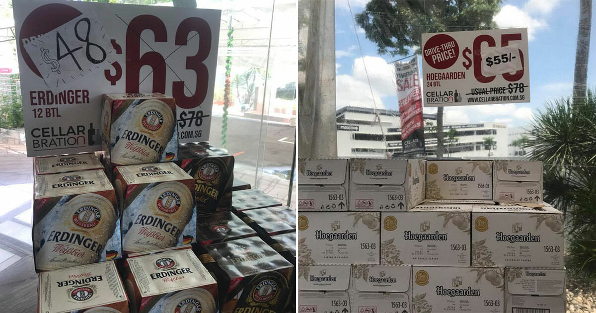 Cellarbration holds first ever Beer & Liquor Drive-Thru Warehouse Sale with prices lower than duty-free