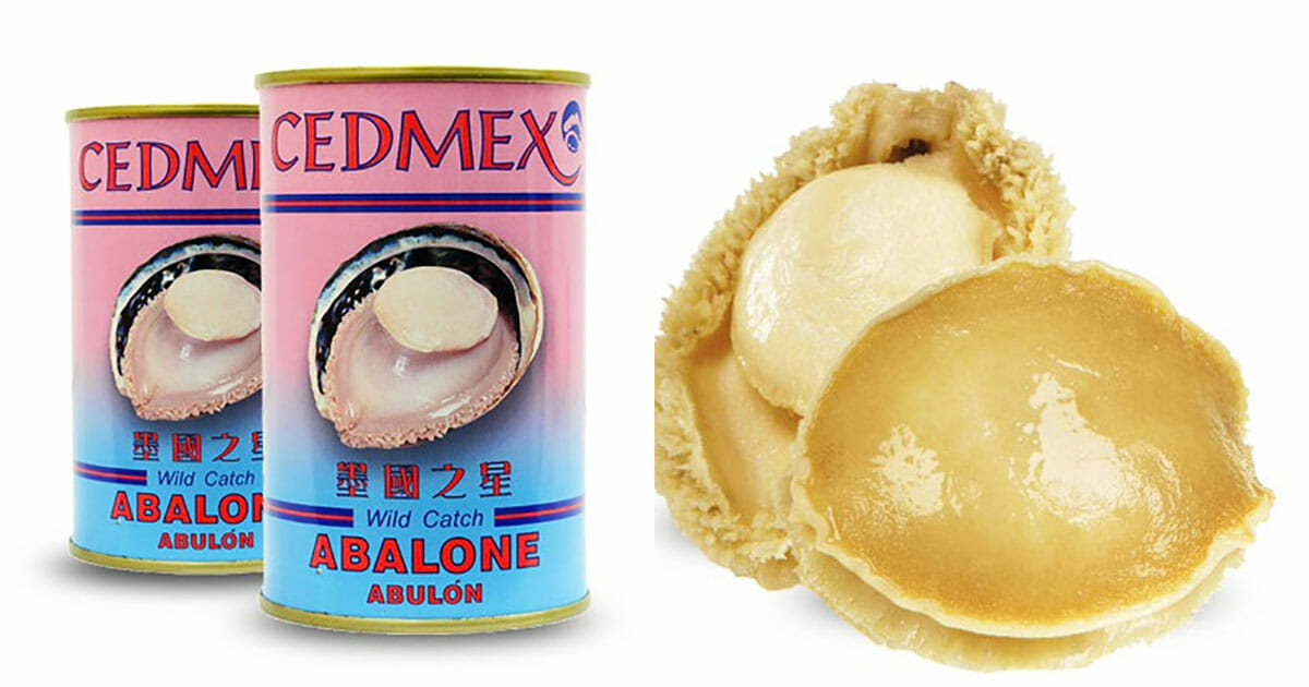 Here's how to get Cedmex Mexico Wild Abalone for $157 per can this weekend till January 6