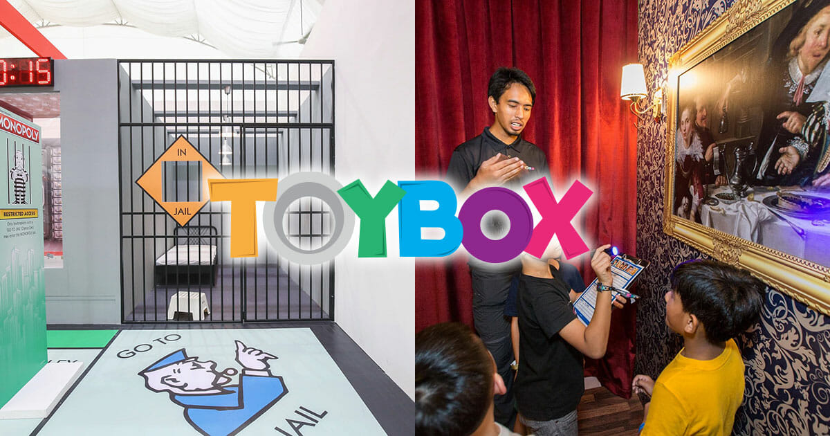 Hasbro's multi-brand TOYBOX carnival at Sentosa brings life-sized Monopoly apartments, Cluedo escape room & more