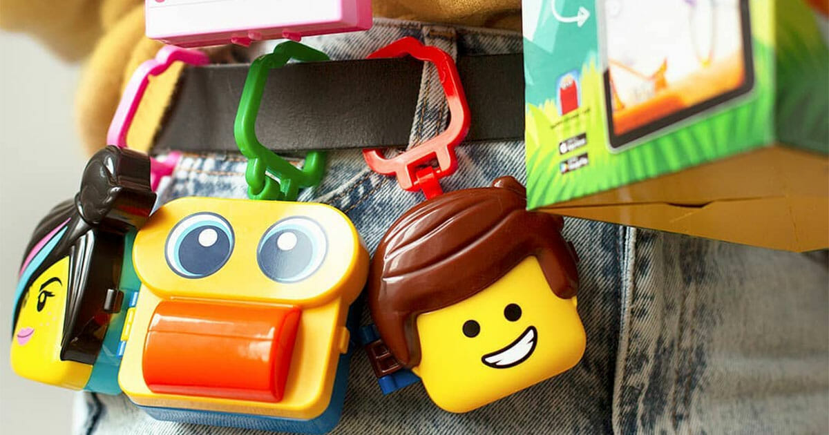 McDonald's releases new LEGO Movie 2 Happy Meal Toys that contains games and puzzles inside the oversized heads